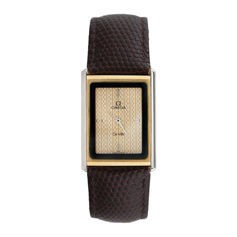 Fashion Hermes Croco Semprem 175 000 omega quartz 1387 pre owned pre owned timepieces touch of modern