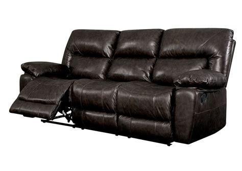 rustic brown leather sofa council s furniture stallion rustic dark brown motion sofa
