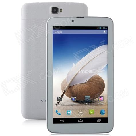 white 2 rom android e a77 7 quot android 4 2 dual phone tablet pc w 512mb ram 4gb rom wi fi bluetooth