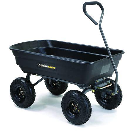 gorilla carts garden dump cart decor ideasdecor ideas