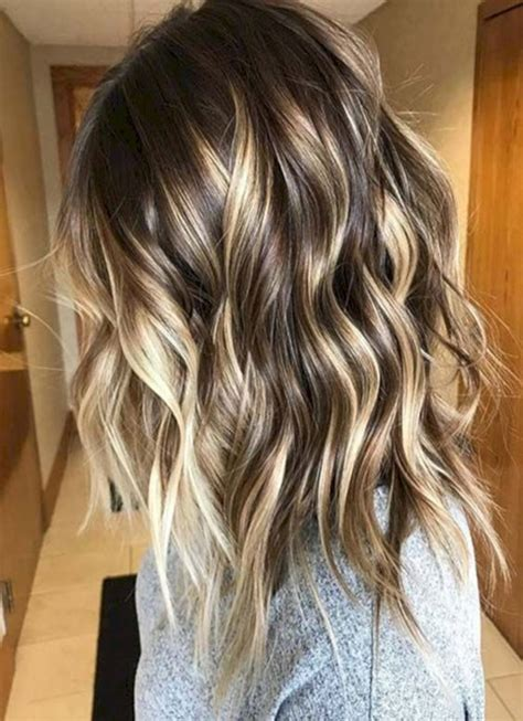 spring highlights for brunettes winter spring hairstyles ideas 2018 balayage highlights