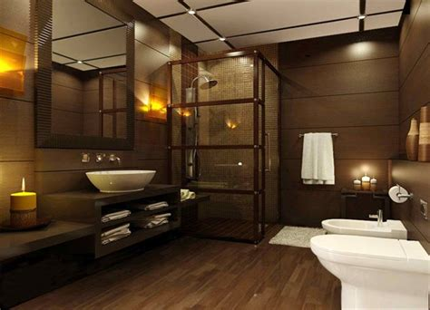 Modern Bathroom Brown Tiles 15 Stunning Modern Bathroom Designs Home Design Lover