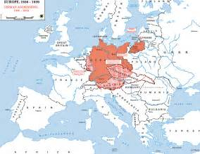 map of europe germany map of germany in europe