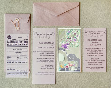 what to include in destination wedding invitations an the las vegas weddi on las vegas