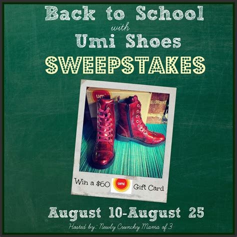 Shoe Giveaways On Instagram - umi childern s shoe giveaway powered by mom