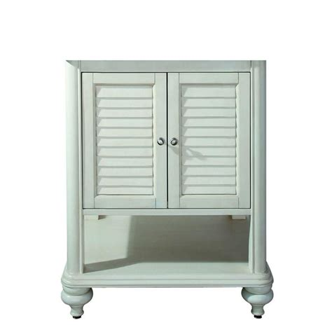 24 inch white vanity cabinet avanity tropica 24 inch vanity cabinet in antique white the home depot canada