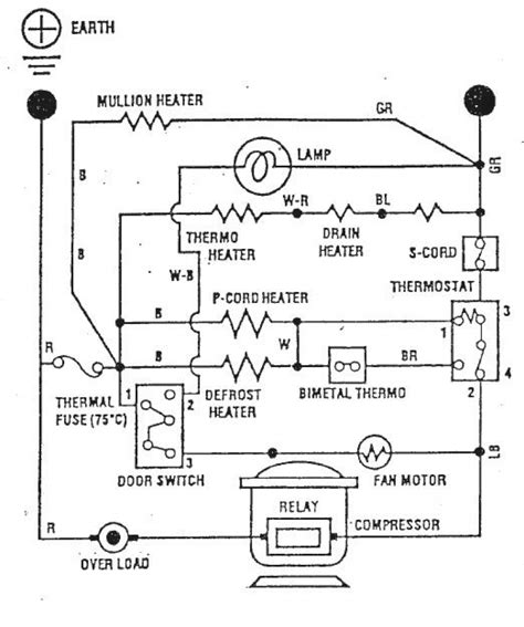 wiring diagram for whirlpool refrigerator whirlpool refrigerator wiring schematic 39 wiring