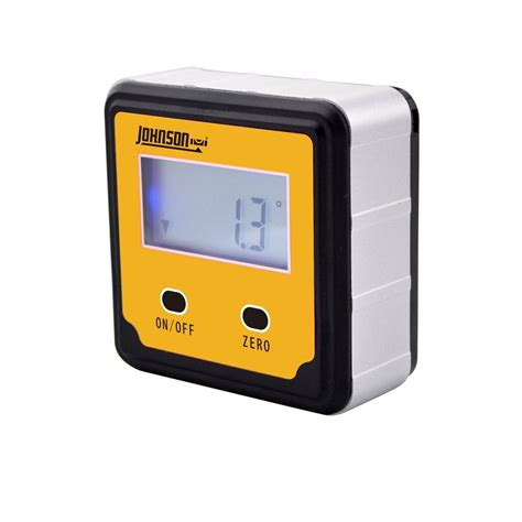 johnson 2 button magnetic digital angle locator 1886 0000