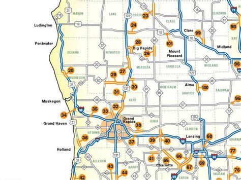 mdot construction map michigan s largest 2016 highway construction headaches