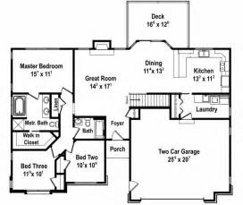 simple three bedroom house plan floor plan bedroom house plans simple three room map