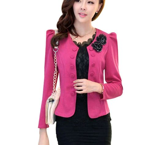 Korean Style Blazer Black New Korean Blazer popular korean style blazer buy cheap korean style blazer