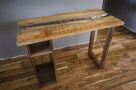 live edge computer desk live edge computer desk highly figured by eck