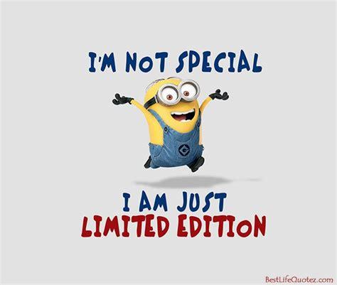 I am just limited edition - Minion Attitude Quotes FB ...