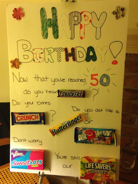 Homemade Poster  Ee  For Mom Ee  S  Ee  Th Ee    Ee  Birthday Ee    Ee  Party Ee   Gifts