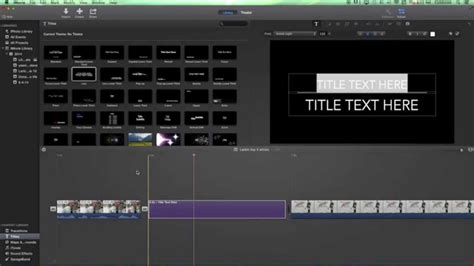 tutorial imovie 10 imovie 10 tutorial basics 8 adding text titles and