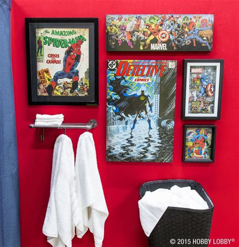marvel superhero bathroom accessories 100 best images about gallery wall ideas on pinterest
