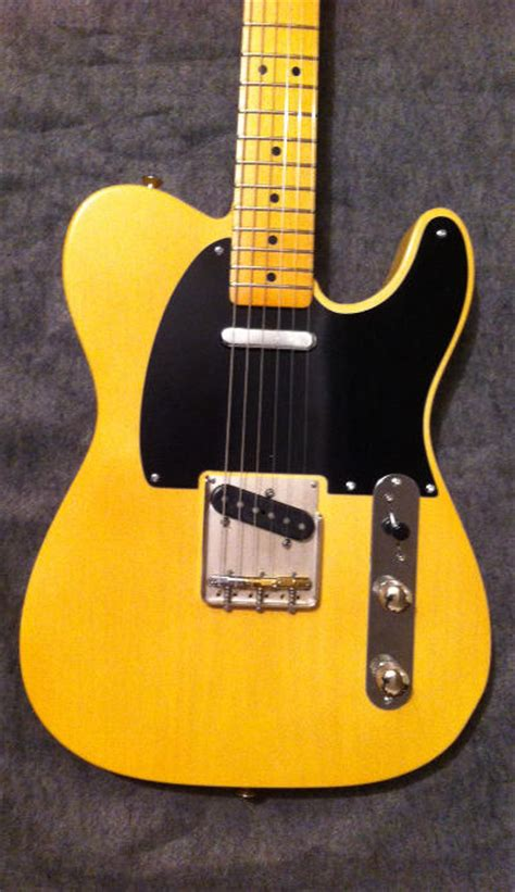 Handmade Guitars For Sale - butterscotch t style crook guitar for sale crook custom