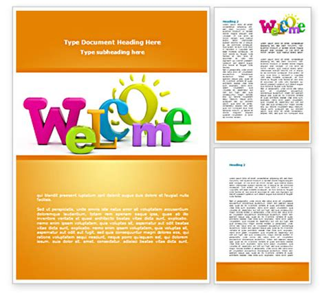 welcome brochure template csoforum info
