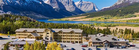 hotels cabins lodging stay in glacier wateron