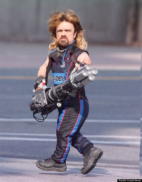 peter dinklage video game movie va viper here s peter dinklage in a mullet with a laser