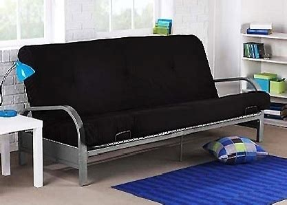 brand new metal futon sofa bed with black size