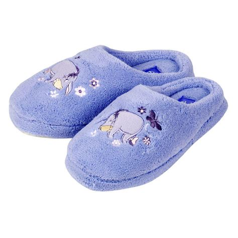 pooh slippers disney eeyore winnie pooh terry slippers size 3 4 new