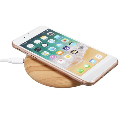 iphone 8 wireless charging bakeey 10w qi wireless dock charging wood mat fast charging charger for iphone x 8 8plus samsung
