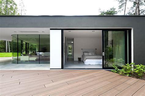1950s House Floor Plans by Villa Veth Modern Nature In Hattem Netherlands