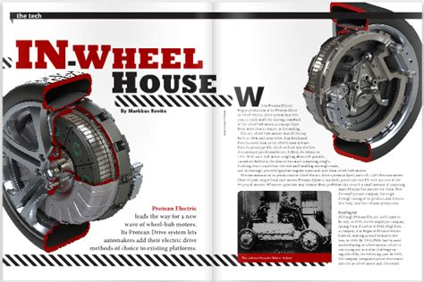 protean hub motor charged evs in wheel house protean electric s in wheel