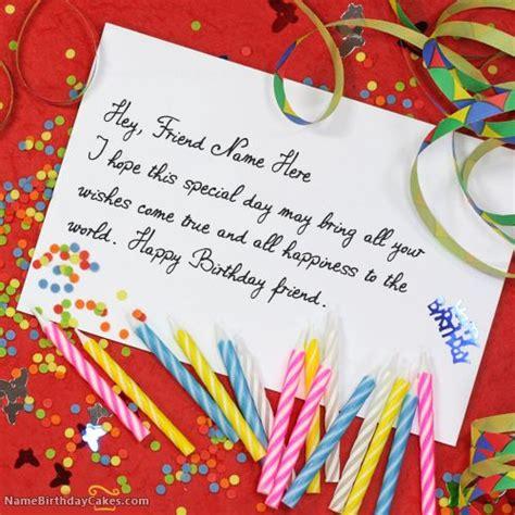 make a birthday card with name write name on unique birthday card happy birthday wishes