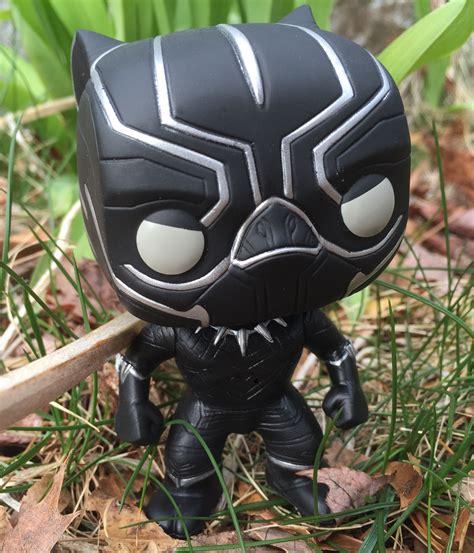 Funko Pop Vinyl Marvel Black Panther Civil War civil war funko black panther pop vinyl review photos marvel news