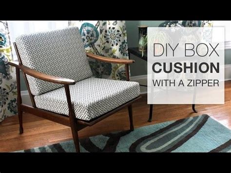 how to make sofa cushions how to make a box cushion with a zipper box sewing