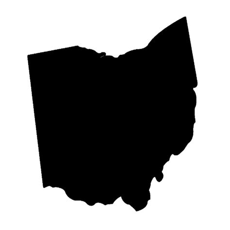 State Of Ohio Address Finder State Of Ohio Wooden Shape Baltic Birch Wood