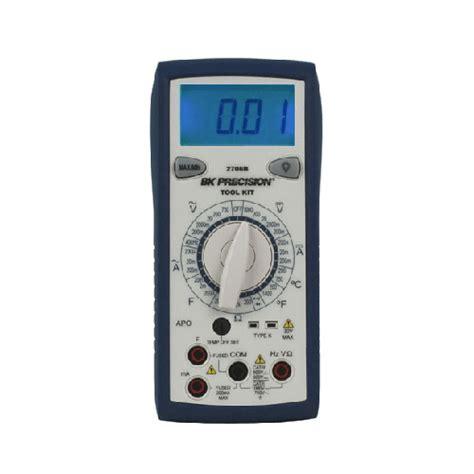 Bk Precision 2706b Tool Kit Manual Ranging Digital