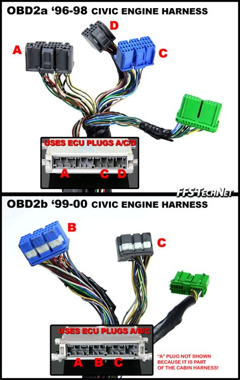 obd1 b series engine into obd2a obd2b civic integra