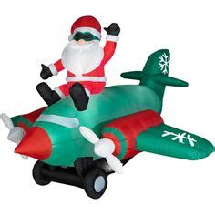 wal marts inflatablesforchristam northpole airlines snoopy woodstock airblown plane and