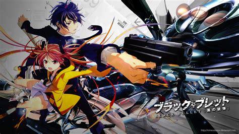 black bullet black bullet anime review