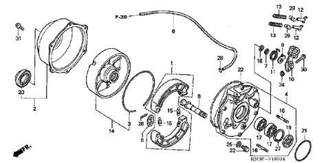 honda foreman 450 parts diagram 2002 honda foreman 450 wiring diagram wiring diagram manual
