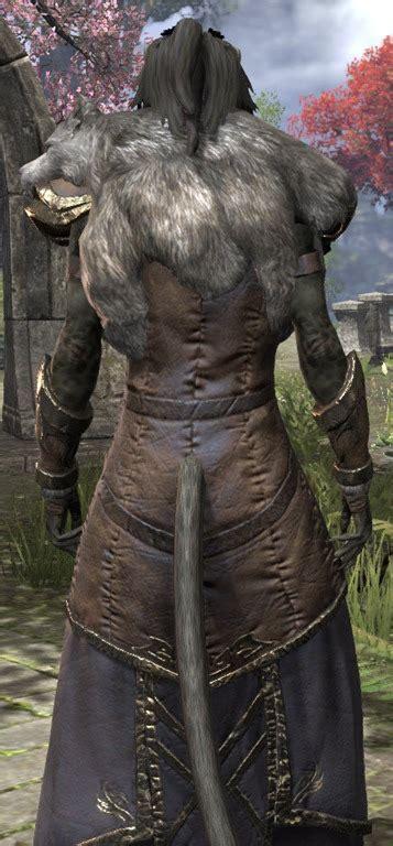 eso fashion werewolf lord elder scrolls
