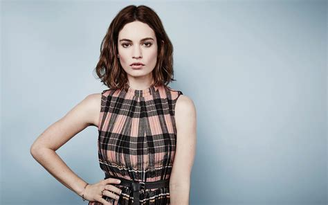 Actress Lily James Wallpapers   HD Wallpapers   ID #15256