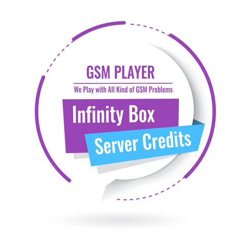 Infinity Products Infinity Server Credits For All Infinity Products With