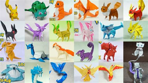 Origami Pokemons - top paper origami 2014 2017 my crafts