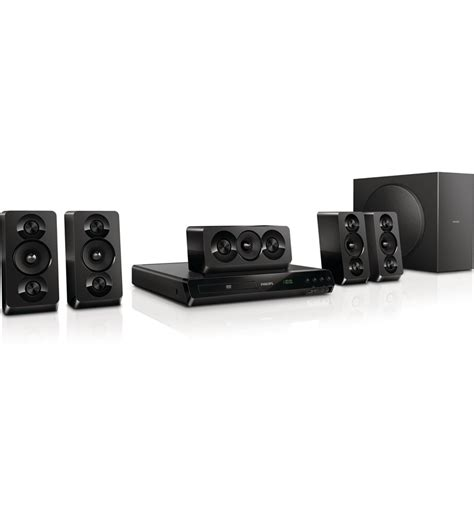 philips 5 1 home theater dvd bass sound htd5510 94