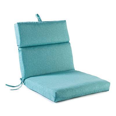 Teal Heirloom Outdoor Chair Cushion   Big Lots