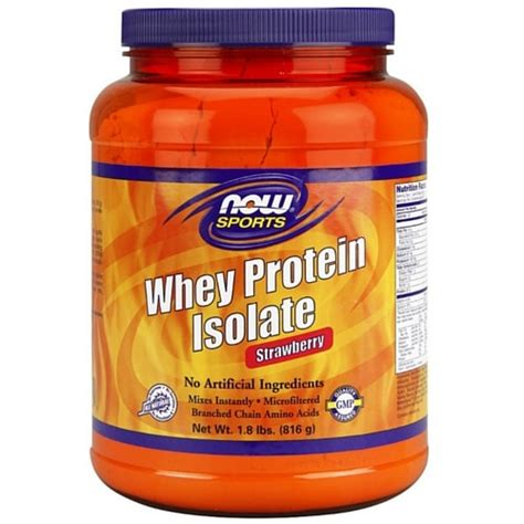Whey Protein 1 Lbs whey protein isolate strawberry 1 8 lbs health store vitamins supplements