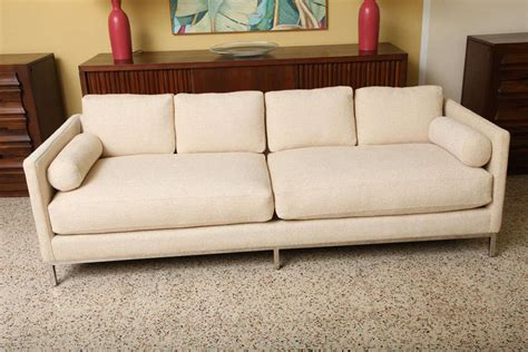 above the influence couch smart florence knoll style sofa by icf at 1stdibs