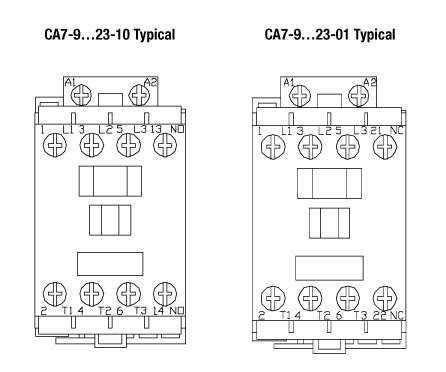 ca7 contactor wiring diagram choice image wiring diagram