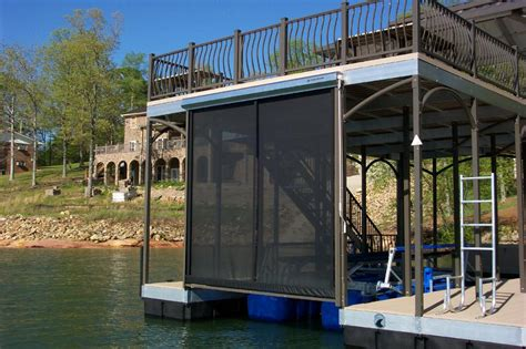 boat dock curtains pictures for rock solid materials llc in bixby ok 74008