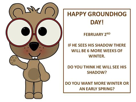 groundhog day you speak speech language literacy llc groundhog day 1 to 3