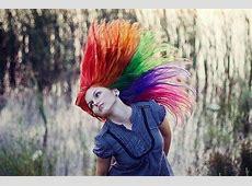 Rainbow Hairs Rainbow Hair Tumblr